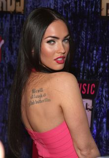 Megan Fox, punaise