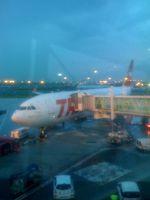 Le gentil n'avion mais je ne sais pas si c'est un airbus ou un boeing