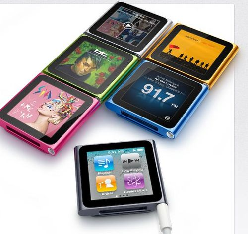 Apple - iPod nano - La nouvelle touche nano, maintenant avec Multi-Touch