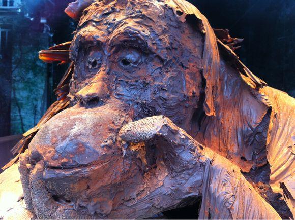 L'orang outang en chocolat de Patrick Roger