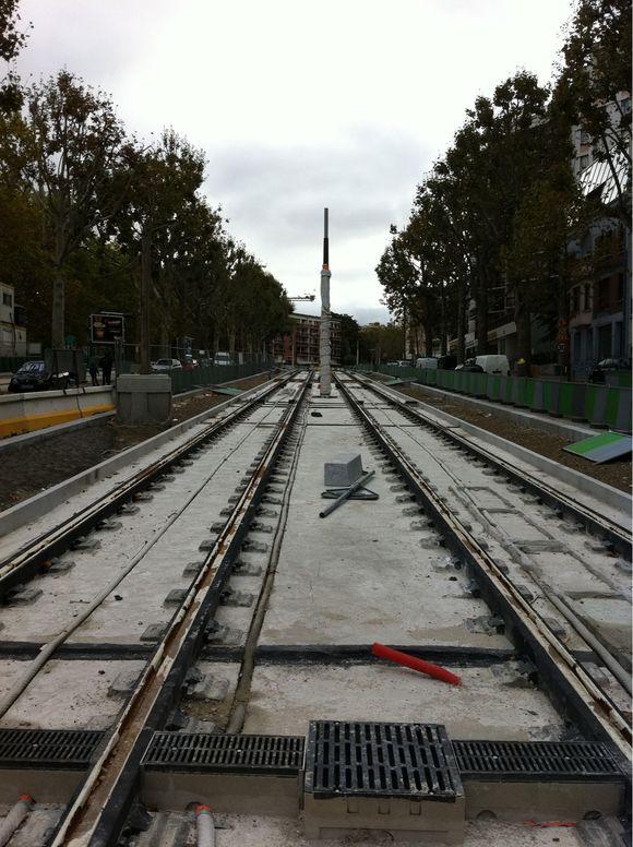 Le presque tram de la Porte des Lilas