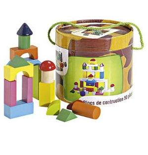 Baril 50 blocs construction Amazon