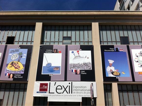 Exposition internationale des dessins de presse