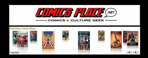 Comics Place  Comics & Culture Geek