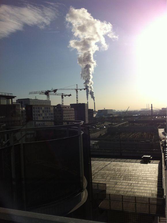 Cheminées Paris Sud, soleil d'hiver