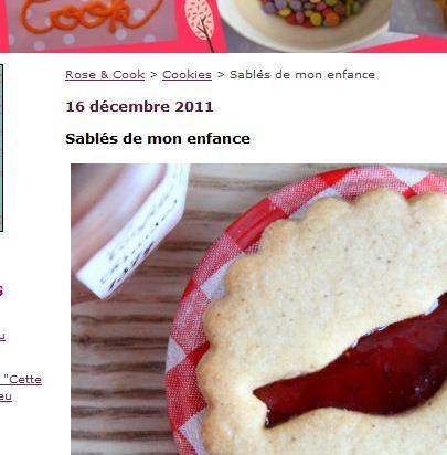 Sablés de mon enfance - Rose & Cook - Google Chrome_
