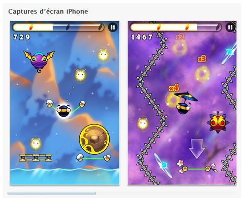 App Store - Parachute Ninja -