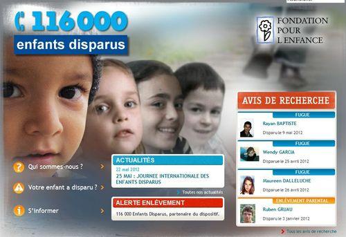 Enfants disparus