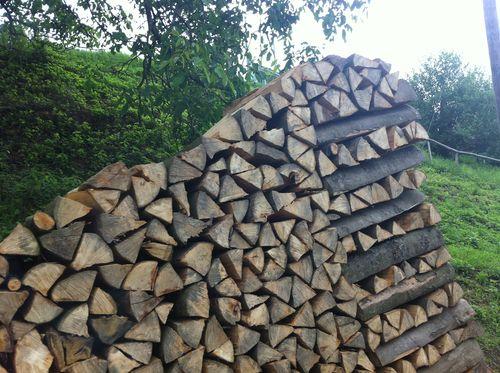 Pile bois