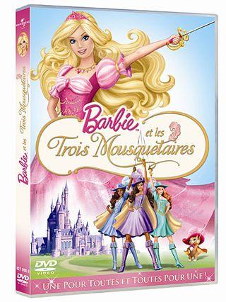 Barbie 3 mousquetaires