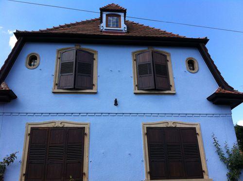 Maison bleue strasbourg