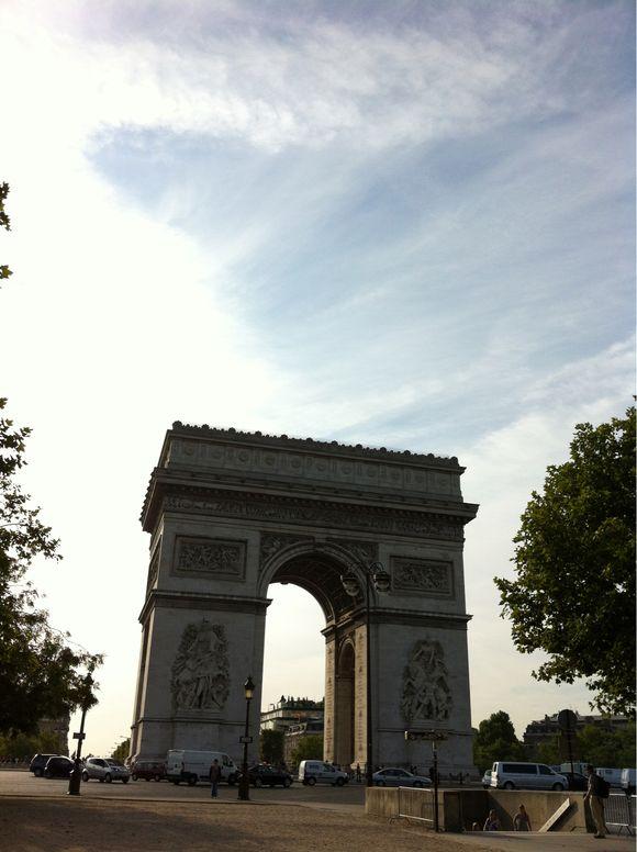 Matin soleil parisien