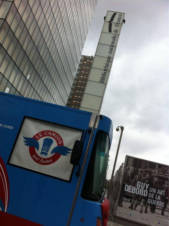 Le camion qui fume au MK2
