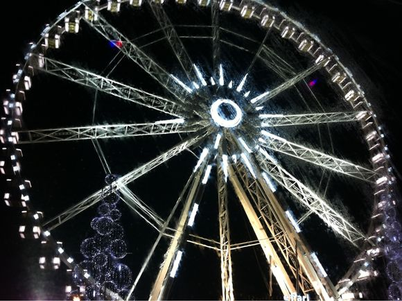 La grande roue Concorde by night