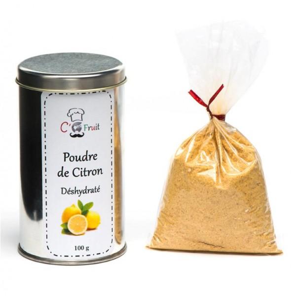 Poudre-de-citron-jaune-deshydrate